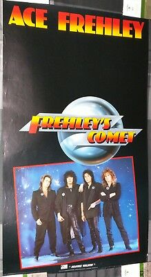 Ace Frehley / Frehley's Comet / Kiss / 1987 Lp / Cd Megaforce Promo Poster