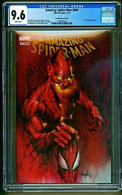 Amazing Spider-Man #800 Marvel Red Goblin app Lucio Parrillo Variant CGC 9.6