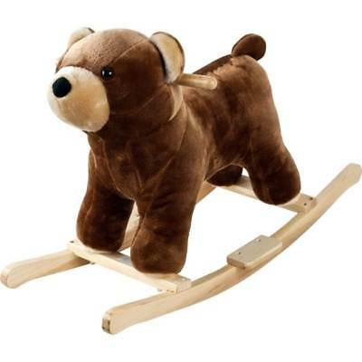 Happy Trails Plush Rocking Barry Bear w Sounds [ID 120274]