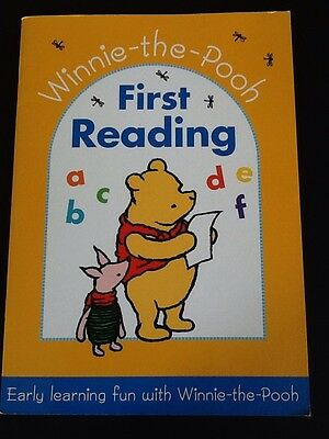 Classic Pooh First Reading Activity Book Winnie The Pooh