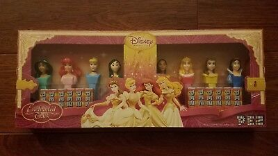 PEZ - Vintage Disney Princess PEZ Dispensers - Set of 8 - Mint in Package (MIP)