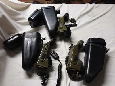 lot of 3 - US-Military-TA-1-PT-TA-1-Field Telephone Cases Military vintage as-is
