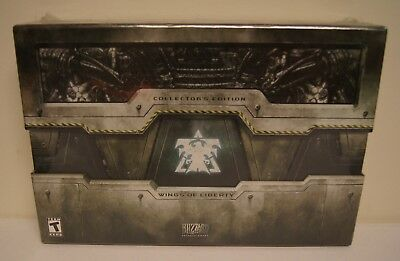 New! StarCraft II / 2: Wings of Liberty [Collector's Edition] (PC DVD-ROM, 2010)