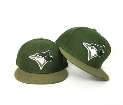 online store 3cc88 69623 New Era Olive Green Toronto Blue Jays 59Fifty Fitted hat Jordan 12 Chris  Paul