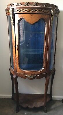 Gorgeous antique style vitrine/display stand