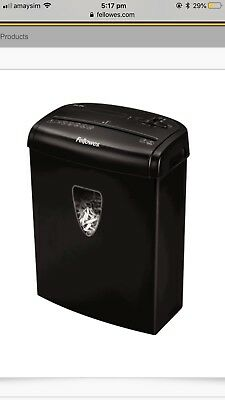Paper Shredder Fellows H-8C/H-8Cd                      RRP $105.00