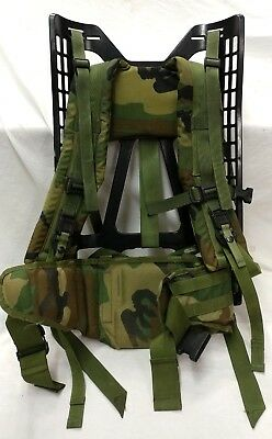 US ALICE Backpack Frame w/ Straps & Kidney Pad Military Issue Pack U.S. - MOLLE