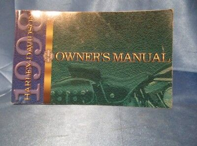 9477 ~ 1998 Harley Davidson Touring Vehicle Owner'S Manual P/n 99466-98