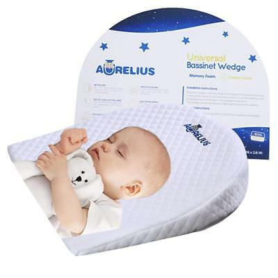 Aurelius Baby Sleep Pillow WaterProof Reflux Pillow Wedge 12Degree Colic For