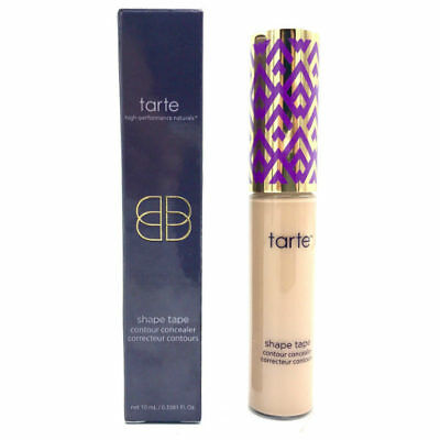 TARTE Double Duty Beauty Shape Tape Contour Concealer- LIGHT MEDIUM -10 ml - NIB