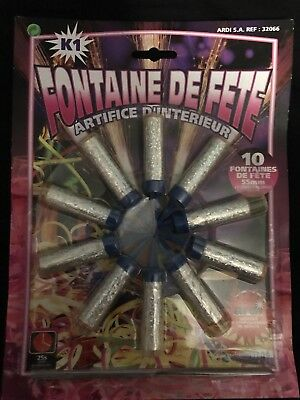 Fontaine De Fete Fireworks Label