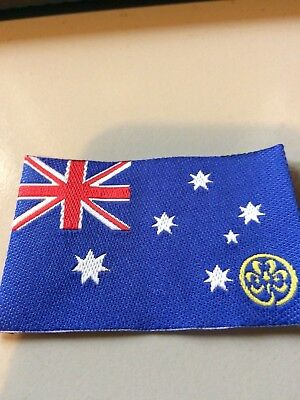 Girl Guides / Scouts Australian flag
