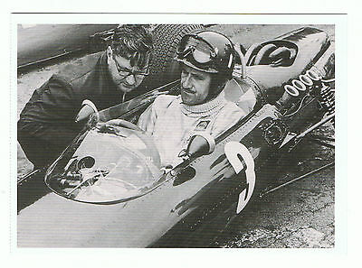 Graham Hill Postkarte