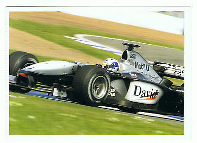 David Coulthard Postkarte