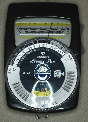 Gossen Luna-Pro Professional  Lightmeter with original case and new batteries
