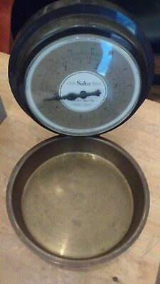 Vintage Salter Wall Mount kitchen scales
