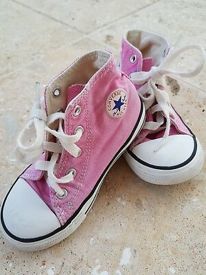 Toddler/Child's Pink Converse size 9