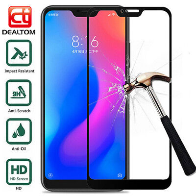 Full Cover Tempered Glass Screen Protector For Xiaomi 8 A2 Redmi 5 6A S2 Note 5A