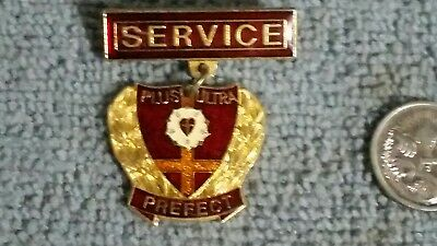 St Peters Lutheran College Indooroopily Prefect  Pin / Badge