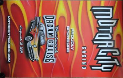 1957 Chevy - Official Michigan Woodward Ave Dream Cruise Poster For 2007