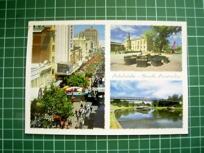 2014 POSTCARD - VIEWS OF ADELAIDE & SURROUNDS - SOUTH AUSTRALIA -  Used