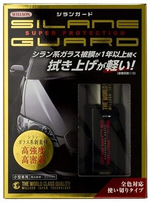 WILLSON Coating agent Silane guard for small vehicles 01276 [HTRC 3] from japan
