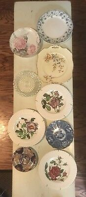Antique Plates Variety Set of 9