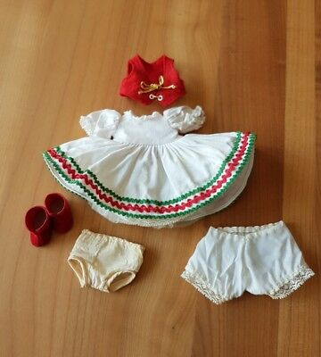 """Vintage 1960's/70's Tagged """"Hungarian"""" Outfit-7 Pieces For 8"""" Madame Alexander"""
