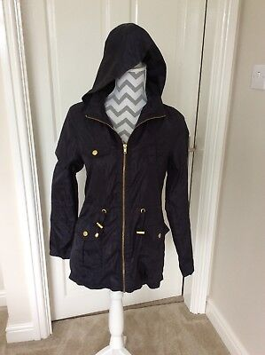 New Look Age 12-13 Navy Rain Coat