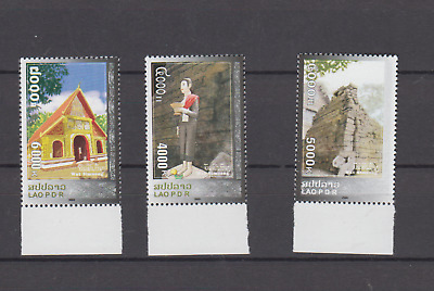 Laos 2009 Wat Simoungi Complete Set Mint Never Hinged