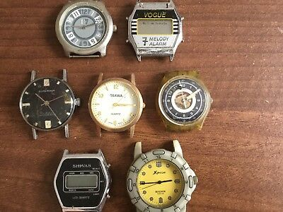 Job Lot Of  Various Watches - Spares Or Repair - Untested