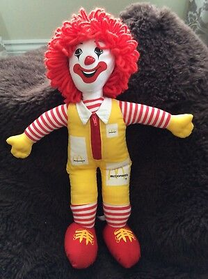"Ronald Mcdonald 16"" Soft Toy Figure"