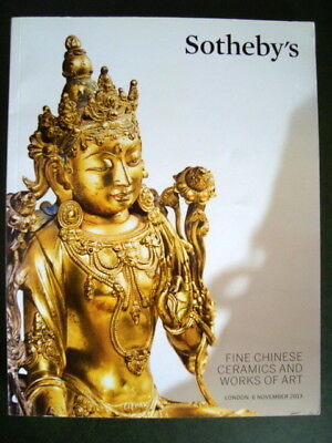 Fine Chinese Ceramics And Works Of Art - Sotheby's Catalogue London Nov 2013