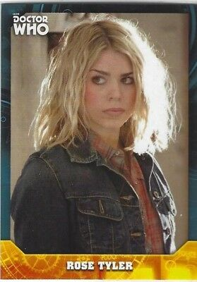 Doctor Who Signature Series base card #18 ROSE TYLER (2017) Topps
