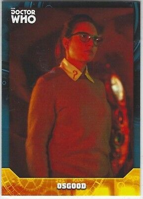 Doctor Who Signature Series base card #23 OSGOOD (2017) Topps