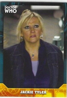 Doctor Who Signature Series base card #29 JACKIE TYLER (2017) Topps
