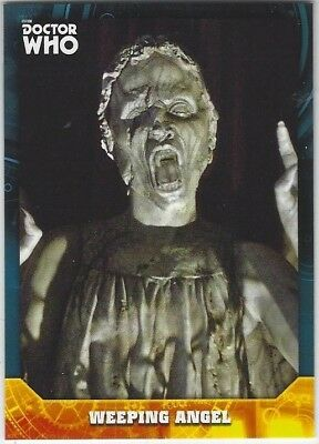 Doctor Who Signature Series base card #54 WEEPING ANGEL (2017) Topps