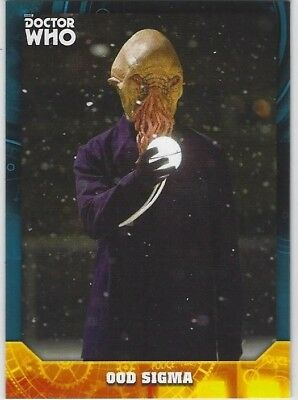 Doctor Who Signature Series base card #71 OOD SIGMA (2017) Topps