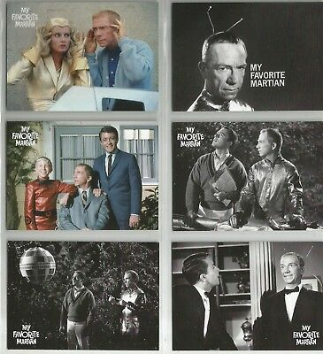 MY FAVORITE MARTIAN complete 6 trading card preview set (Unstoppable cards) 2014