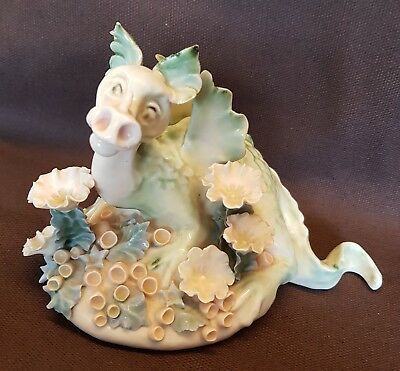 Dragon Mummy & Hatchling Chessell Pottery