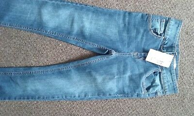 brand new high waisted jeans age 9-10