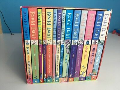 Roald Dahl Phizz Whizzing Collection Paperback 15 Book Set RRP £85 FREE POSTAGE