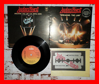 JUDAS PRIEST - Breaking the law - Limited Edition Souvenir Single