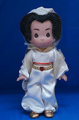 Jasmine Aladdin Disney Christmas Treasure Precious Moments Doll Signed 4841