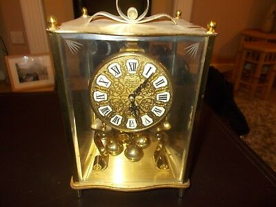Vintage Kundo Anniversary 400 day Torsion clock Germany Spare or repair