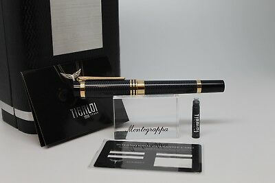 Tibaldi by Montegrappa New York Blue Yellow gold Fountain Pen TP025-FPBL-YG