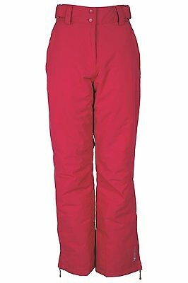 NEW Womens Mountain Warehouse Ski Trousers Salopettes 18 Pink RRP £79.99