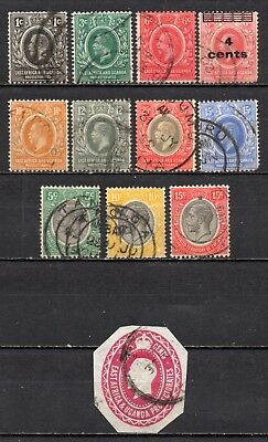 K.U.T East Africa co very nice mixed KG V collection ,stamps as per scan(5214)