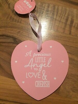 Wooden Baby Girl Ornament