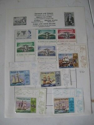 Tristan Da Cunha, Album Page, Verygood Quality, Reduced Postage, Page 1